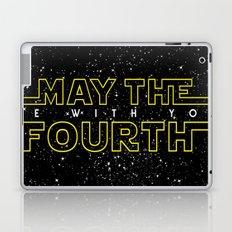 May the fourth be with you Laptop & iPad Skin