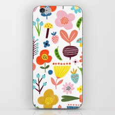 Spring Flower Pattern iPhone & iPod Skin