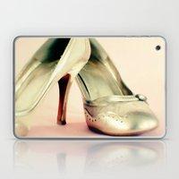 I Love My Gold Shoes 1 Laptop & iPad Skin