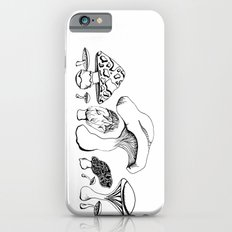 Vintage style Mushroom Grouping  drawing iPhone 6s Slim Case