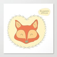 Mr. Foxy Canvas Print