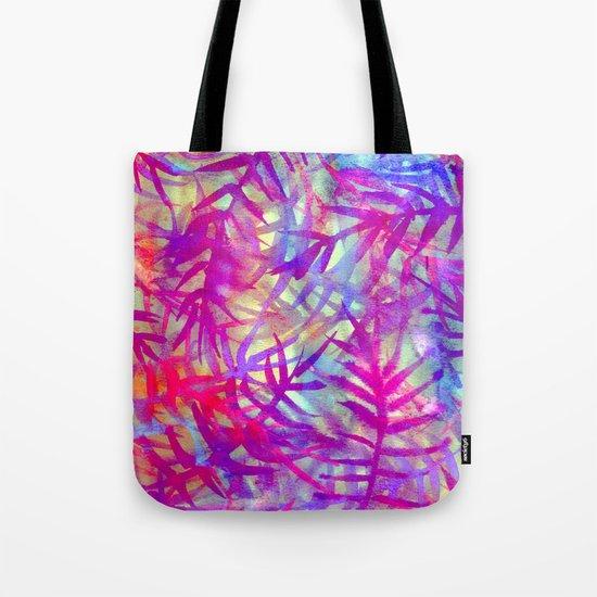 Electric Palms - Pink Tote Bag