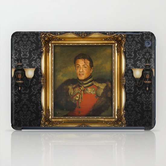Sylvester Stallone - replaceface iPad Case