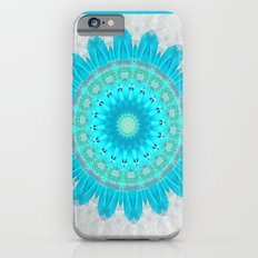 Ocean Turquoise Kaleidoscope iPhone 6s Slim Case