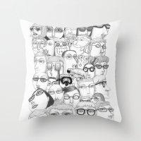 PeopleI Throw Pillow