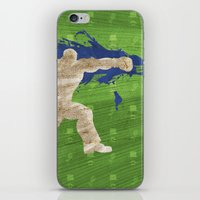 Tea Time (Homage To Dudley of Street Fighter) iPhone & iPod Skin