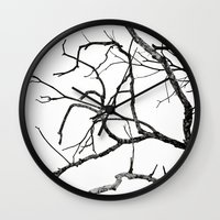 Broken sky Wall Clock