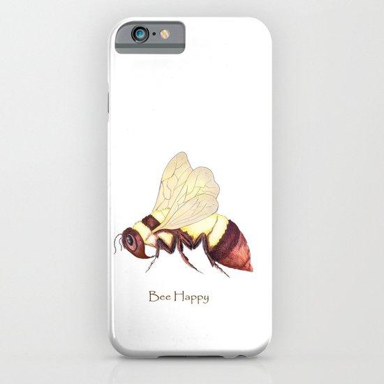 Bee Happy iPhone & iPod Case