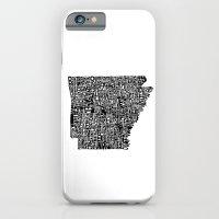 Typographic Arkansas iPhone 6 Slim Case