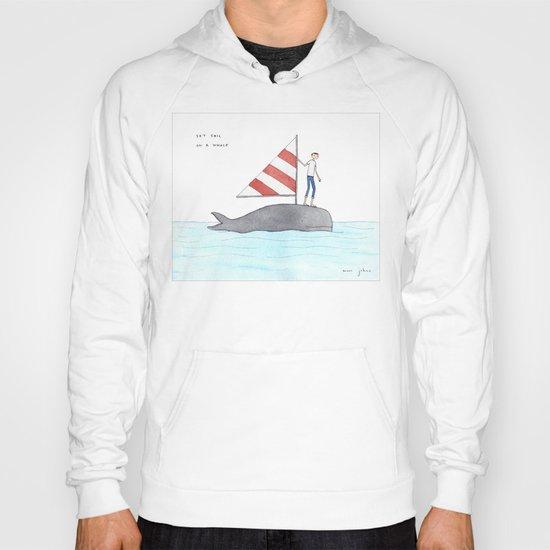 set sail on a whale Hoody