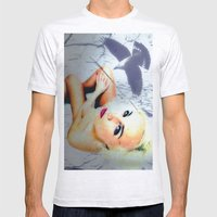 Nude-Art Mens Fitted Tee Ash Grey SMALL