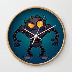 Angry Robot Wall Clock