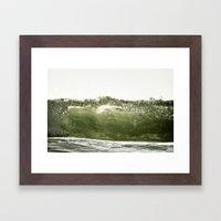 L'onde Framed Art Print