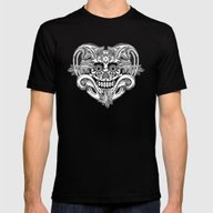 T-shirt featuring Crazy Heart BW by Chicca Besso