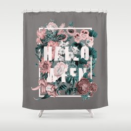 Shower Curtain - Happy Halloween - Burcu Korkmazyurek