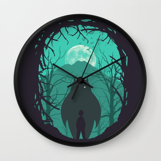 Scary Monsters and Nice Sprites Wall Clock