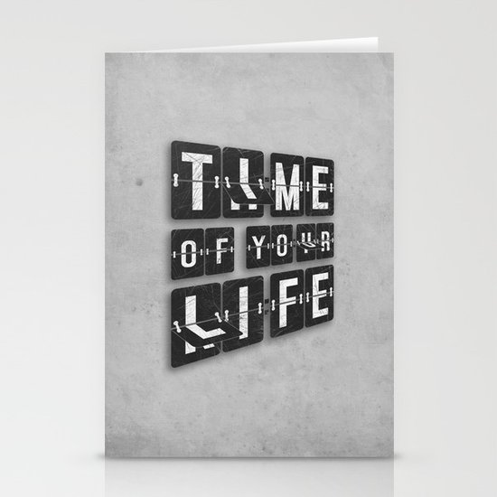 Time of Your Life Stationery Card
