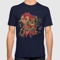 The Doodler Mens Fitted Tee Navy SMALL