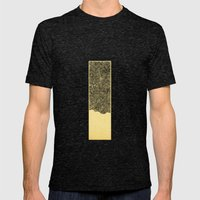 - 7_01 - Mens Fitted Tee Tri-Black SMALL