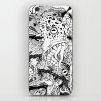 Mr Lovercraft's Monsters iPhone & iPod Skin