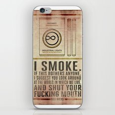 Smoking Bill Hicks… iPhone & iPod Skin