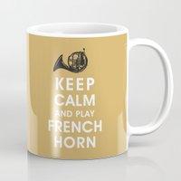 Keep Calm and Play French Horn Mug