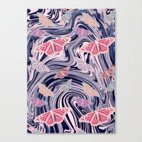 MARBELLOUS BUTTERFLIES Canvas Print
