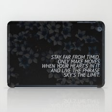 SKY'S THE LIMIT iPad Case