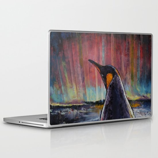 Aurora Penguin Laptop & iPad Skin