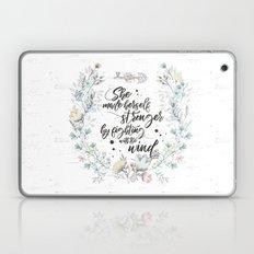 The Secret Garden - She Made Herself Stronger Laptop & iPad Skin