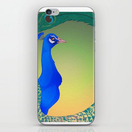 Peacock;Dark iPhone & iPod Skin
