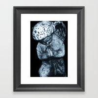 LETS PRAY Framed Art Print