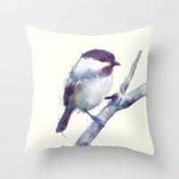 Bird // Trust Throw Pillow