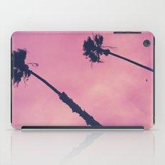 Pink Haze   Palms iPad Case