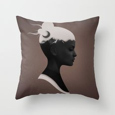 She Just Throw Pillow
