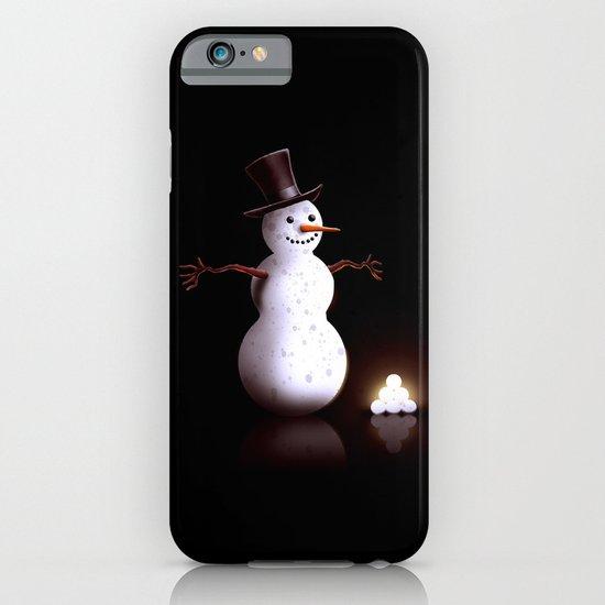 Snowman iPhone & iPod Case