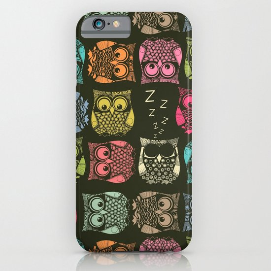 sherbet owls iPhone & iPod Case