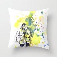 Elvis Presley Dancing Throw Pillow