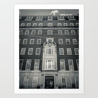 Egginton House Art Print