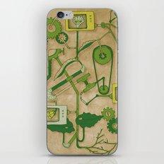 Flower Machine iPhone & iPod Skin