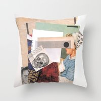 One Flew Over The Cuckoo… Throw Pillow