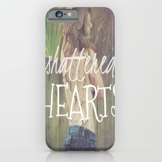 Shattered Hearts Club iPhone & iPod Case