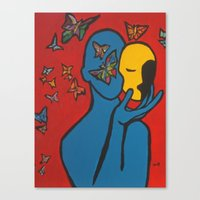 SKIN DEEP  (ORIGINAL SOL… Canvas Print