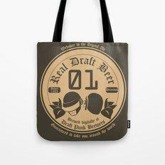 Draft Punk Tote Bag