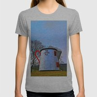 The Coffee Pot Womens Fitted Tee Athletic Grey SMALL