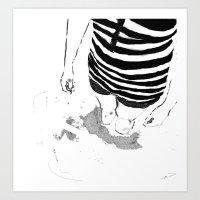Black & White Study - 1 Art Print