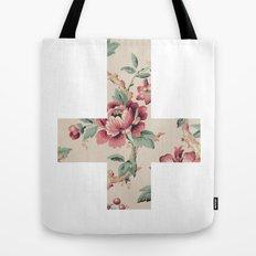Flower Cross Tote Bag