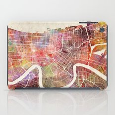 New Orleans map iPad Case