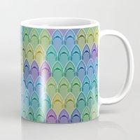 Shark Pattern Mug