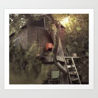 a place called home Art Print